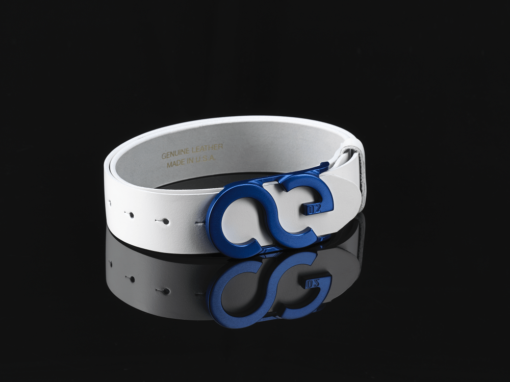 Azure Blue Belt Buckle