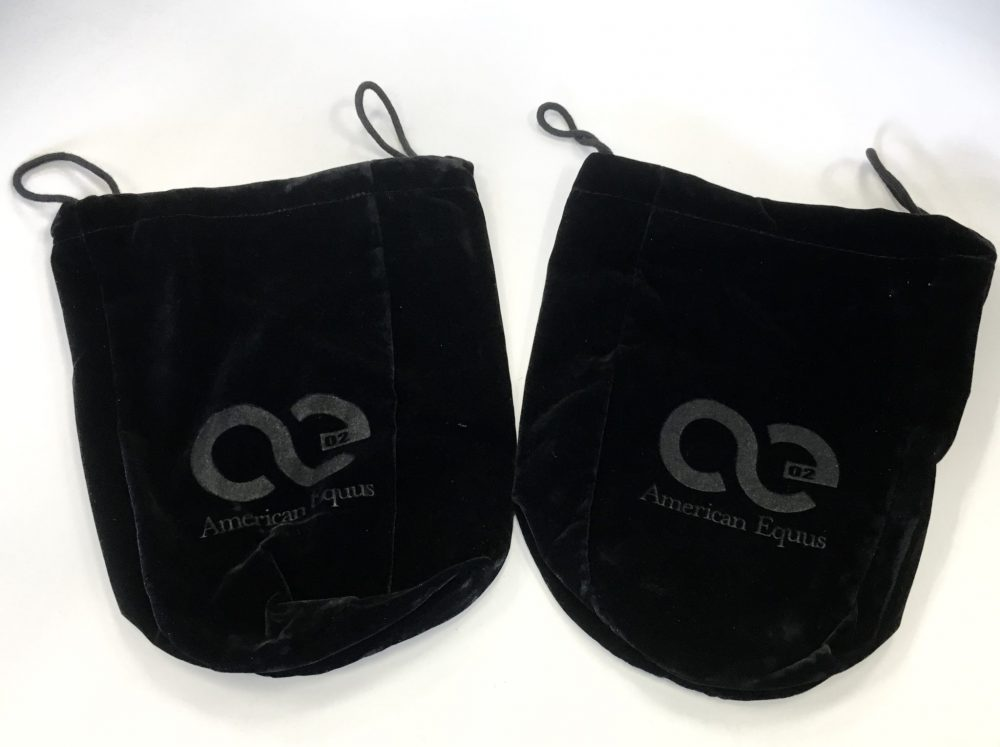 Signature Logo Velvet Stirrup Covers