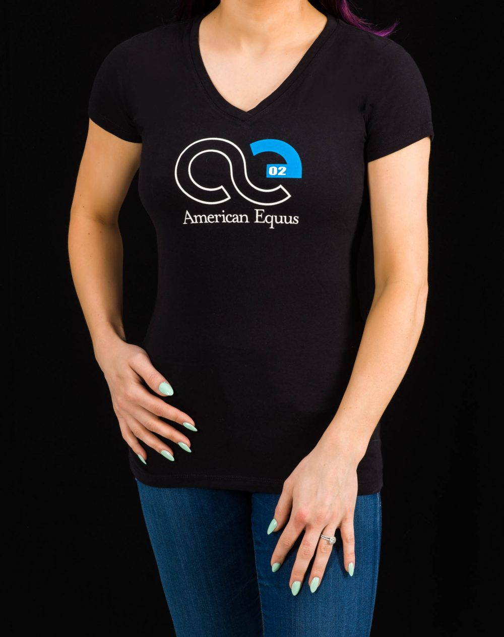American Equus Women's V-Neck T-Shirt