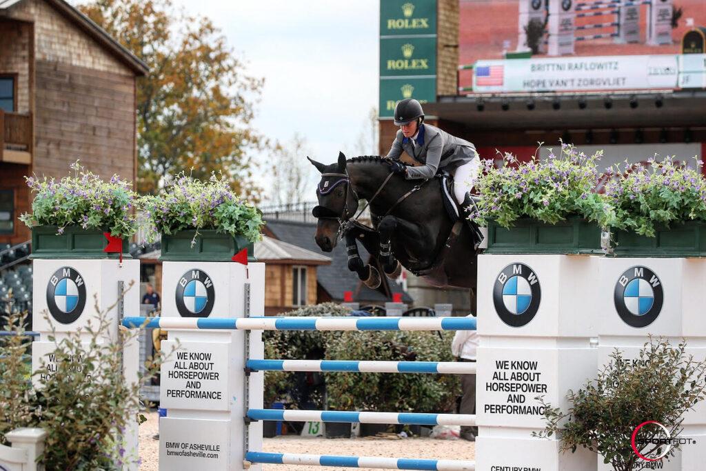 Grand Prix Show Jumper Brittni Raflowitz