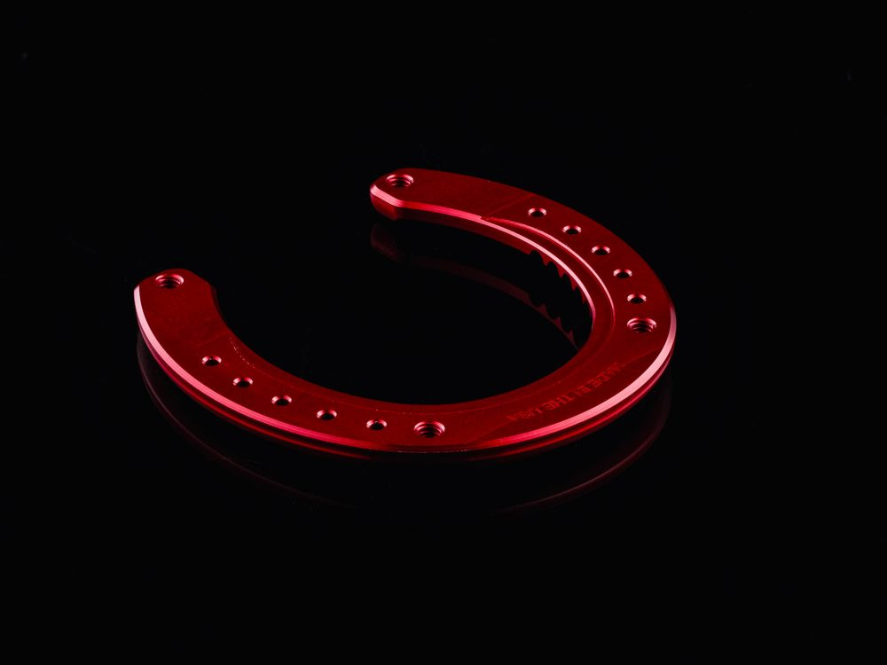 MonoBloc Velocity Horseshoe Red