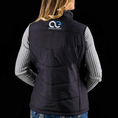 Ladies Signature Puffy Vest -Back