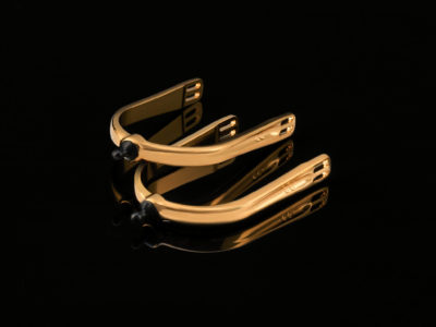 Quick X Interchangeable Spurs 24 Carat Gold