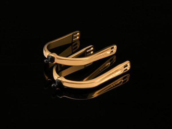 Quick X Interchangeable Spurs 24 Carat Gold