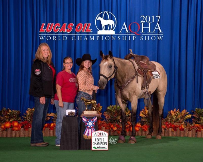 American Equus Congratulates Taylor Zbytek on AQHA World Championship Victory