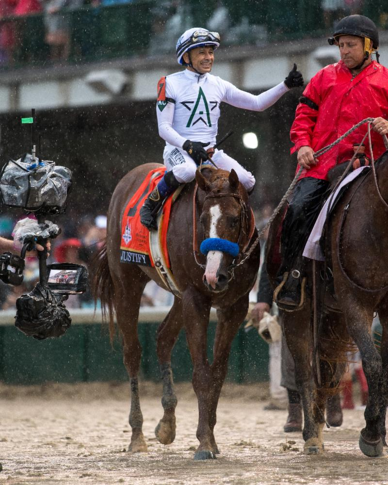 American Equus Sweeps Kentucky Derby with Mike Smith and Justify