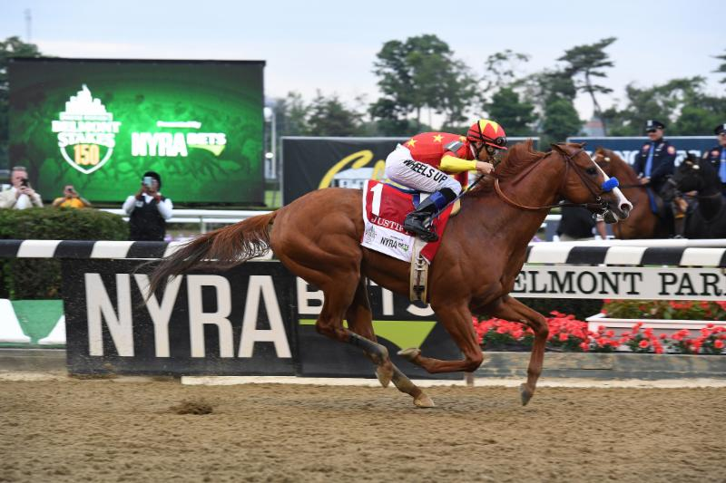 Mike Smith and Justify Carry American Equus to Flawless Triple Crown Victory