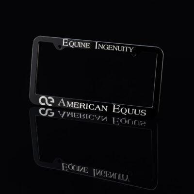 American Equus Signature License Plate Frame