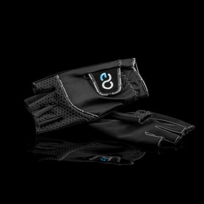 American Equus Cool-Flow Fingerless Equestrian Riding Gloves