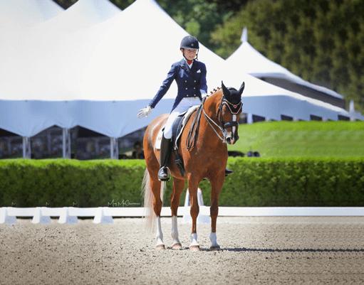 American Equus Chosen Rider Vanessa Creech-Terauds Wins Individual Silver Medal at FEI North American Youth Championships