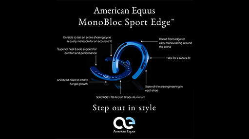 Step Out in Style with American Equus MonoBloc Horseshoes™