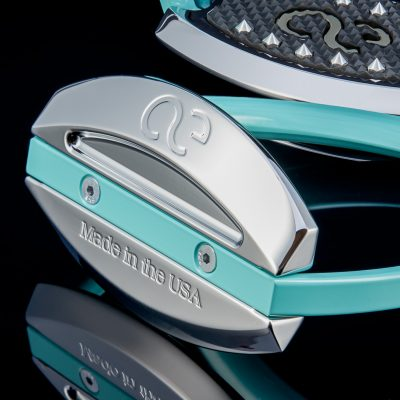 American Equus Tiffany Blue Elite Stirrups