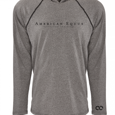 American Equus Technical Training Heather Gray Flex Hoody