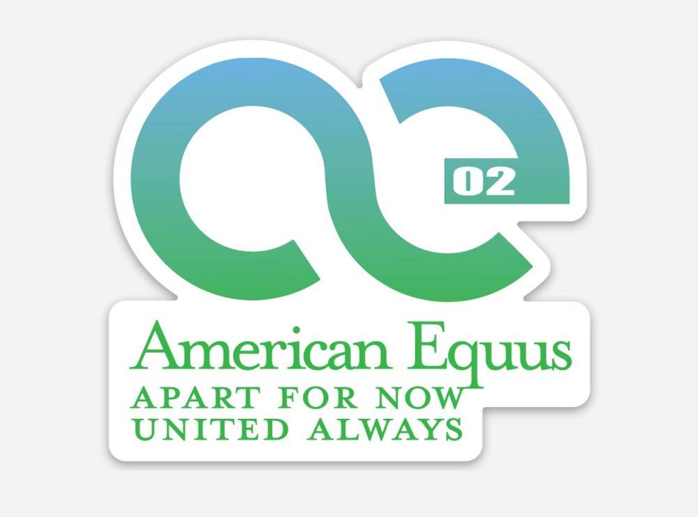 American Equus United Always Decal
