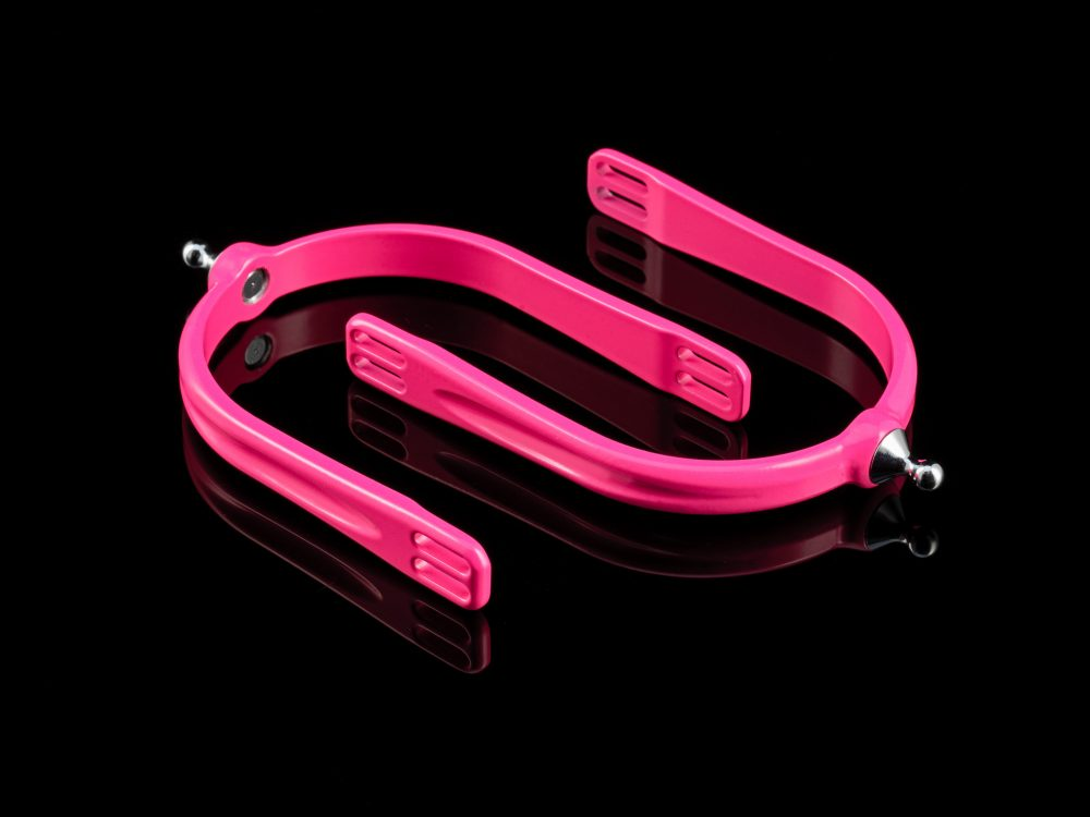 American Equus Quik-X Spurs Illusion Pink
