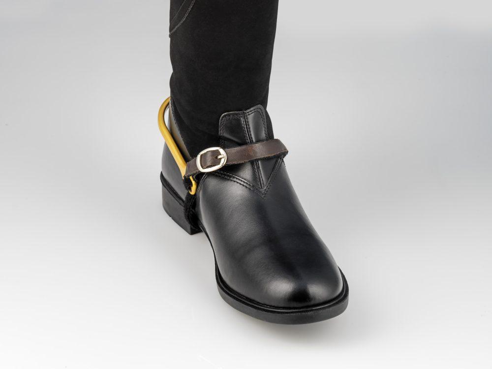 Spur-Tech Spur Strap Brown Leather