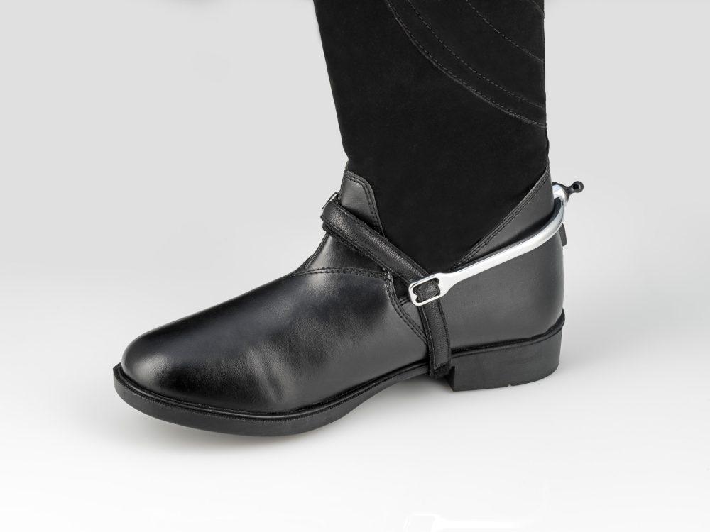 Spur-Tech Spur Strap Black Leather