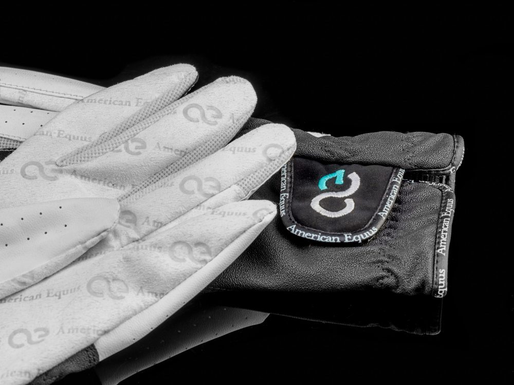 American Equus Half and Half Equestrian Riding Gloves