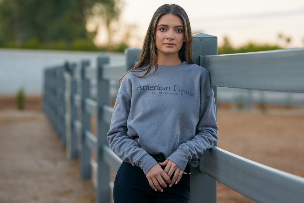 American Equus Signature Sweatshirt - Grey