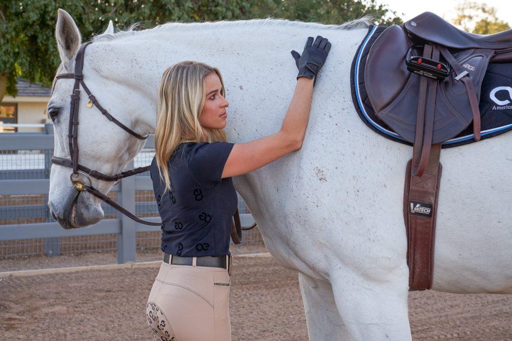 American Equus Velvet Crush T-Shirt - Black