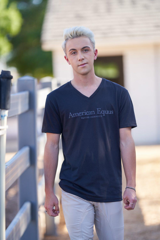 American Equus Signature Logo T-Shirt - Black